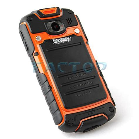 Discovery Android Rugged Phone - celular discovery v5 waterproof rugged 3 5 inch android