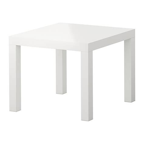 Ikea White Side Table Lack Side Table High Gloss White 21 5 8x21 5 8 Quot Ikea