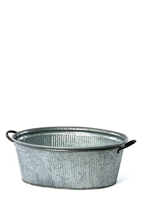 Galvanized Planters Wholesale by Galvanized Oval Tin Planter Shops Planters And Products