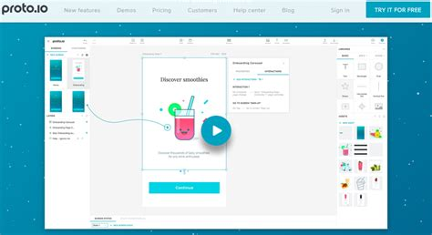 app design online tool 22 best tools for designing a mobile app ui design