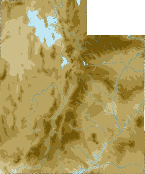 topographical map of utah utah topo map topographical map