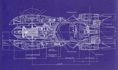 Make A Blue Print | build your own 1989 batmobile using these blueprints