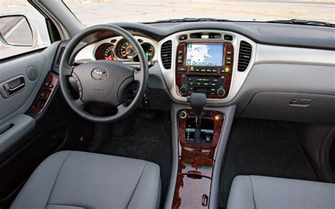 nissan highlander interior comparison 07 ford edge 07 hyundai santafe 06 nissan