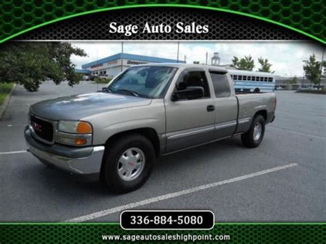sle rubber st buy used 1999 gmc 1500 sle in 1200 s st high