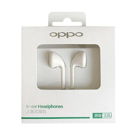 Headset Handfree Oppo Original New jual oppo original headset handfree mh133 headset for oppo r9 putih harga