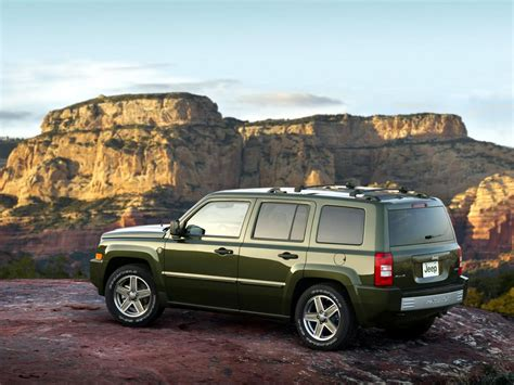 Jeep Patriot Dimensions Jeep Patriot Technical Specifications And Fuel Economy