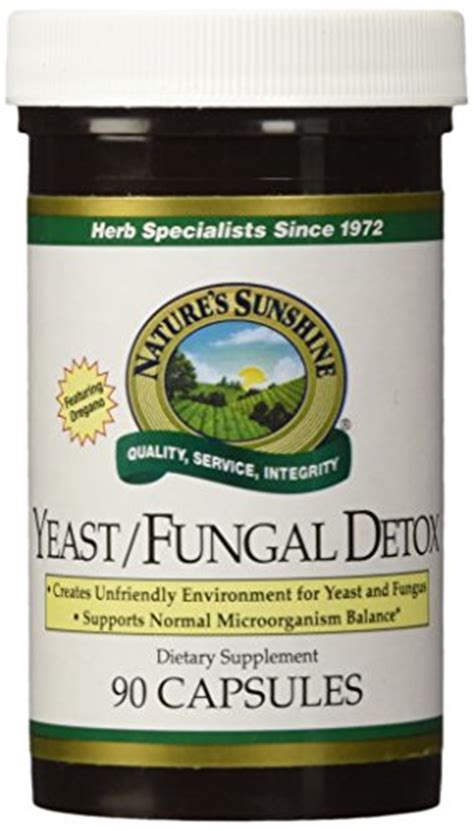 Great Plains Bentonite Detox Weight Loss by Yeast Fungal Detox 90 Herbal Supplements