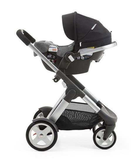 infant stroller without car seat lightweight weighing only 10 5 lbs stokke pipa by nuna