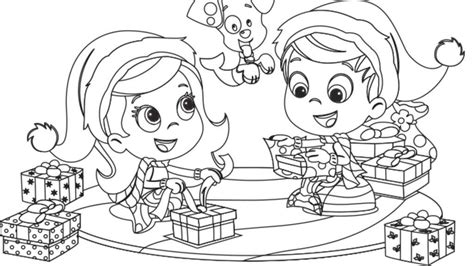 nonny bubble guppies driving racing car coloring page bubble guppies christmas coloring pages inspirational