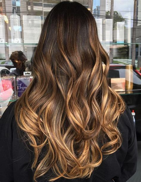 hair balayage 50 chocolate brown hair color ideas for brunettes brown