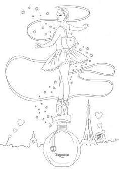 Coloriage : parfum Parisienne Yves Saint Laurent | fashion