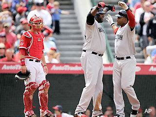 west coast swing boston red sox pick up good vibrations over west coast swing