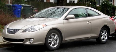 Toyota Makes And Models File 04 06 Toyota Solara Se Coupe Jpg Wikimedia Commons