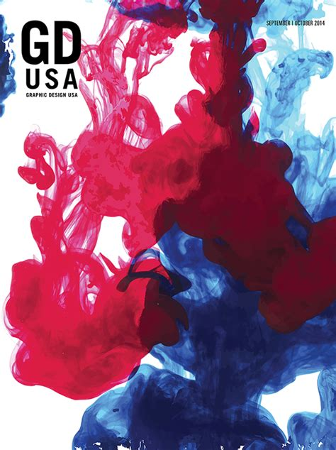 graphic design usa graphic design usa gdusa magazine cover on behance