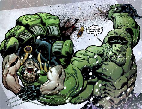 imagenes de hulk vs wolverine en real hulk v wolverine hulk comic vine