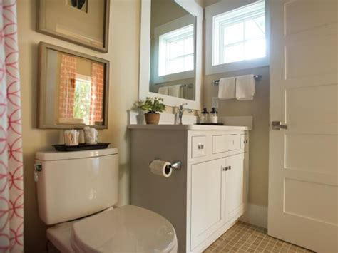 neutral small modern guest bathroom hgtv neutral small bathroom hgtv