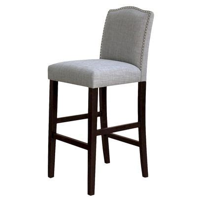 Camelot Nailhead Counter Stool by Kitchen Counter Camelot Nailhead Barstool Milford Dove
