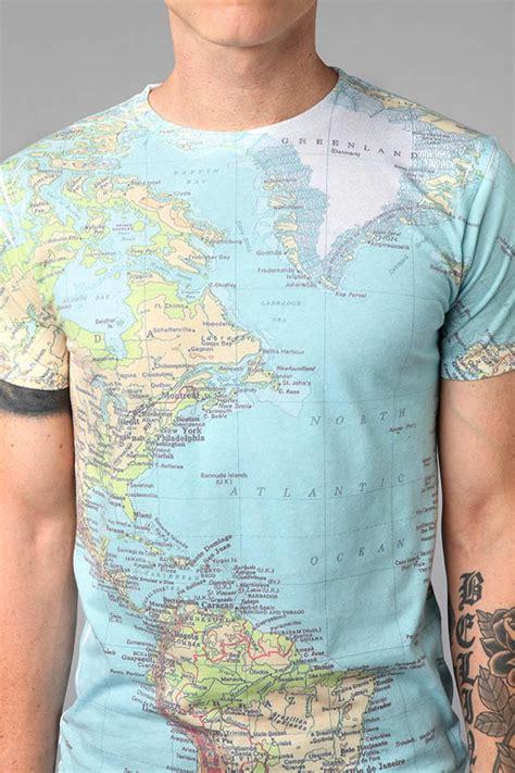 world map t shirt by altru soletopia