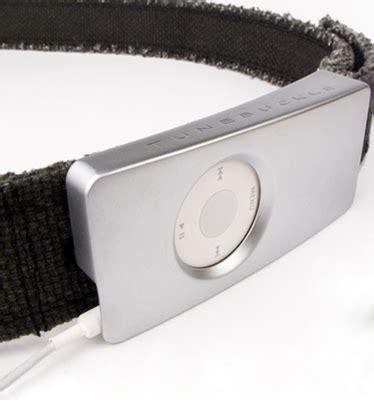 Ipod Nano Belt Buckle by Tunebuckle Ipod Nano Belt Buckle Gear Live