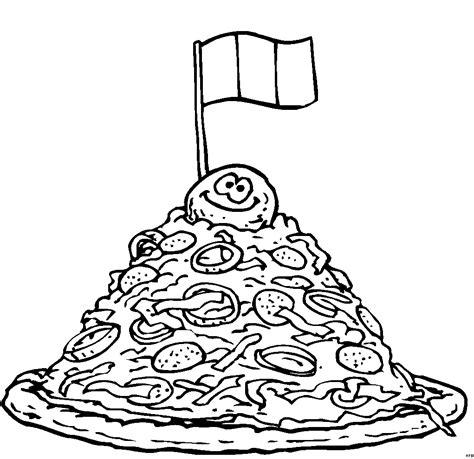 lade a pinza pizza viel belag ausmalbild malvorlage nahrung