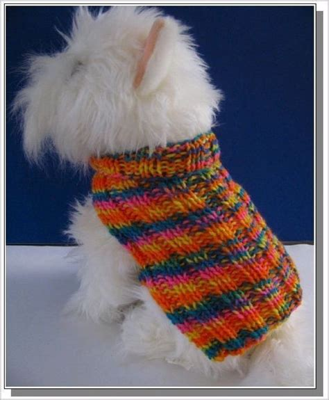 knitting pattern dog coat easy pinterest the world s catalog of ideas