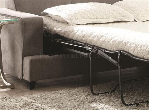 coaster tess sectional sofa 500727 tess sectional sofa by coaster in grey fabric w sleeper