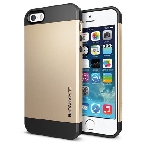 Kesing Iph 5s Model Iph 6 Gold spigen iphone 5s 5 slim armor thinx international