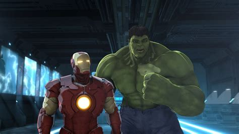iron man hulk heroes united blu ray review ign