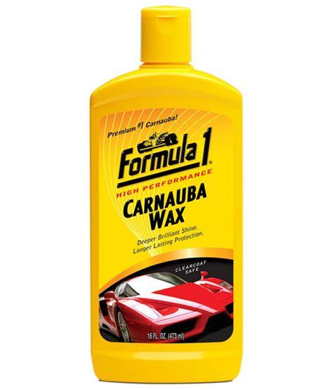 Carnauba Wash And Wax 473 Ml Formula 1 formula 1 carnauba car wax liquid 473 ml buy formula 1