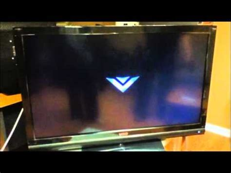 how to reset vizio tv that wont turn on vizio tv power cycle issue youtube