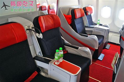 airasia upgrade to premium flex 韩国游记 air asia x premium flatbed 前premium seat 食在好玩
