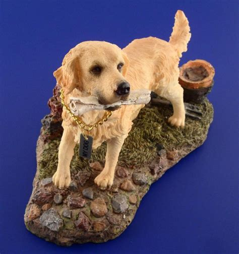 golden retriever figurines golden retriever resin figurine