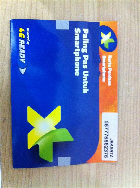 Perdana Xl Cantik 087889513255 jual perdana xl 4g cantik micro sim card rp 15 000