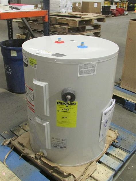 AO Smith 50 Gallon Residential Electric Water Heater Low Boy Top Connect   eBay