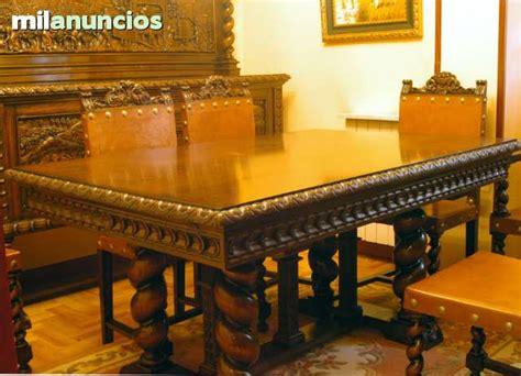 muebles antiguos de madera de castano milanuncios