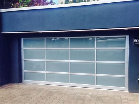 Modern Glass Garage Doors by This Modern Garage Door By Clopay Is The Avante Garage