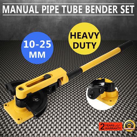 Dymax Stainless Steel Pipe Set Dia 16 22mm 10 25mm heavy duty manual steel pipe bender handheld