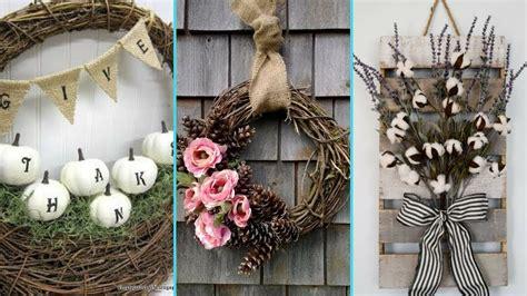 diy shabby chic home decor diy shabby chic style fall wreath decor ideas home decor