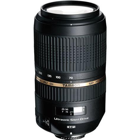 tamron sp 70 300mm f 4 5 6 di vc usd telephoto afa005nii 700 b h