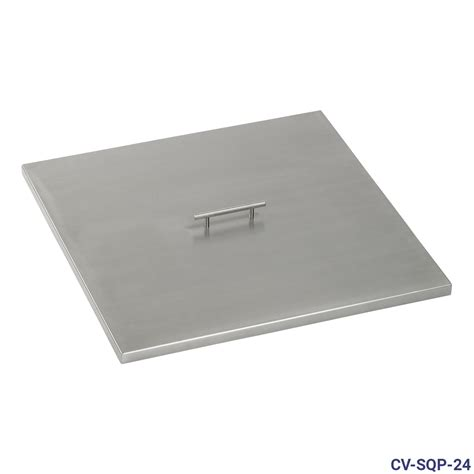 pit pan stainless steel cover for square drop in pit pan