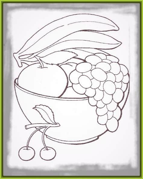 imagenes de frutas faciles para dibujar frutero para colorear frutas imagenes de frutas