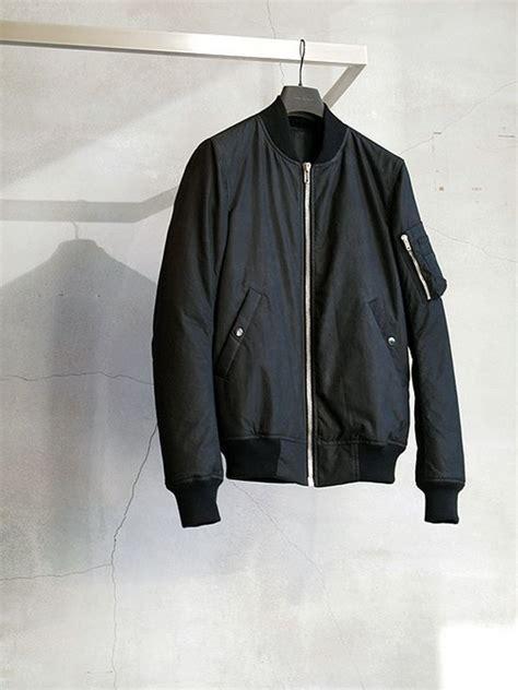 Jaket Inv Bomber Simple Black ps simple black bomber jacket fashion style