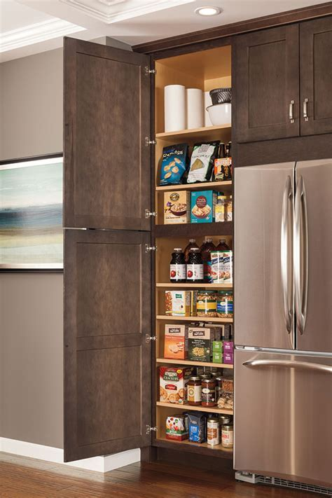 12 Inch Deep Utility Cabinet with Shelves   Aristokraft