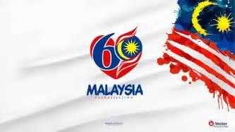 malaysia day merdeka independence day of malaysia flag greeting card
