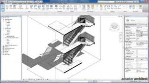 revvit revit tutorials creating stair by component youtube