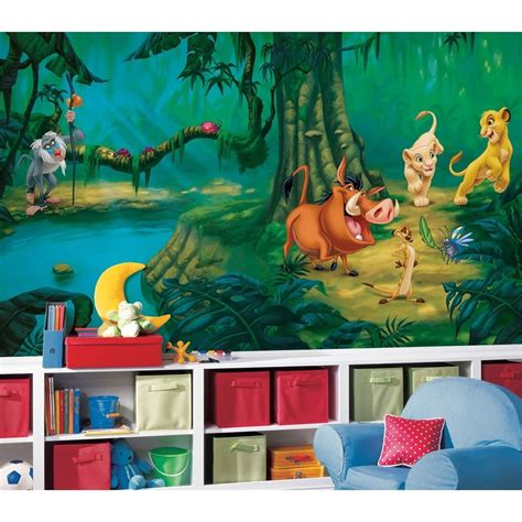 lion king bedroom new xl lion king wall mural disney wallpaper decor lions