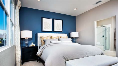 blue accent wall painting accent walls a primer on this diy home update