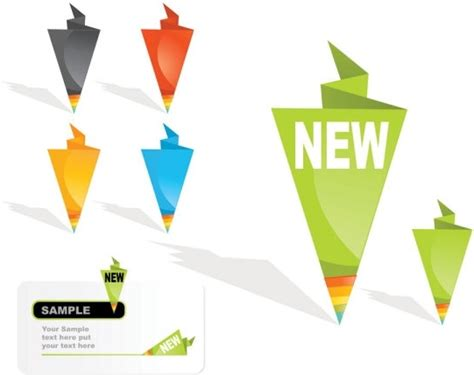 Origami Sale - origami label sales 01 vector free vector in encapsulated