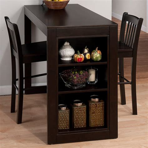 Dining Room Table Breakfast Kitchen Shelves Counter Height