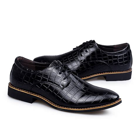 business casual oxford shoes casual business classic lace up oxford shoes